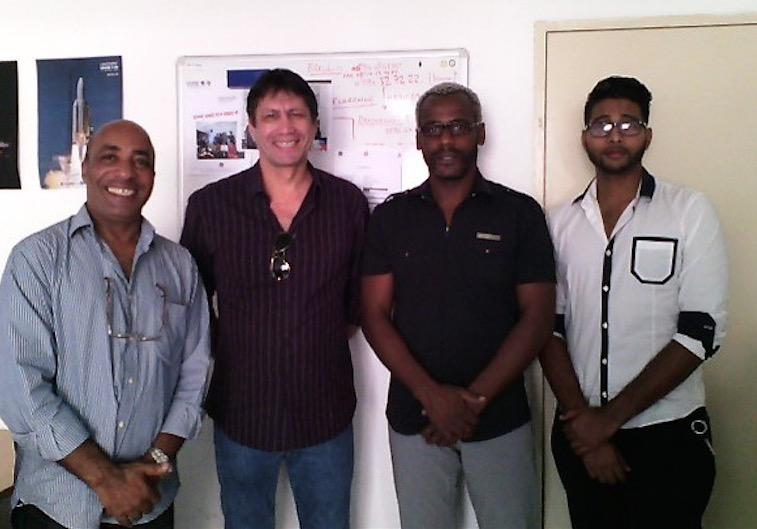 Equipe de la Guyane